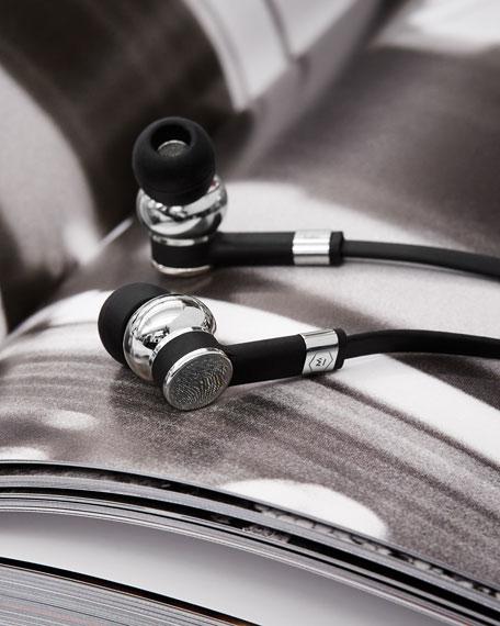 ME05 In-Ear Headphones, Silvertone/Black