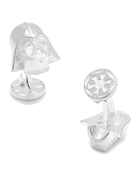 Cufflinks Inc. Star Wars Darth Vader Sterling Silver
