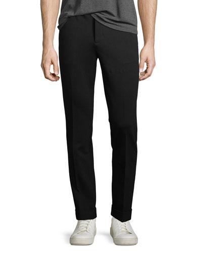 Ponté Slim-Leg Pants