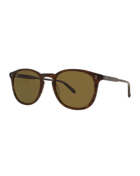 77300b8855 Garrett Leight Kinney 49 Square Polarized Sunglasses