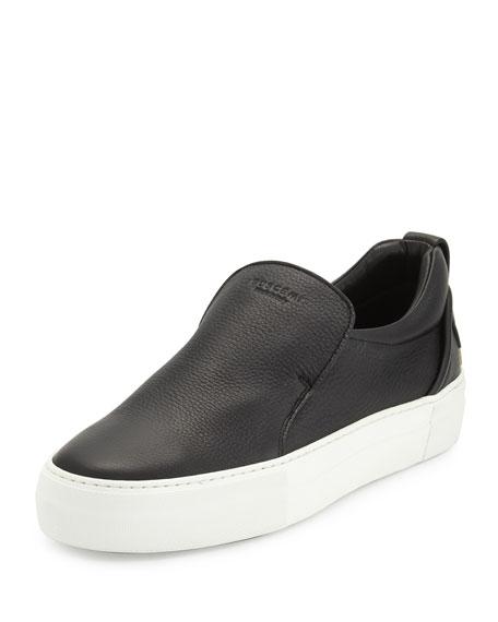 Buscemi 40mm Men s Leather Slip-On Sneakers 6e65b46317e1