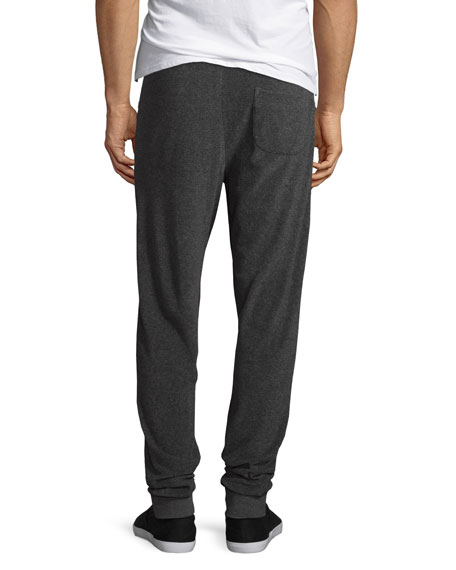 Beagi Toweling Terrycloth Sweatpants, Gray