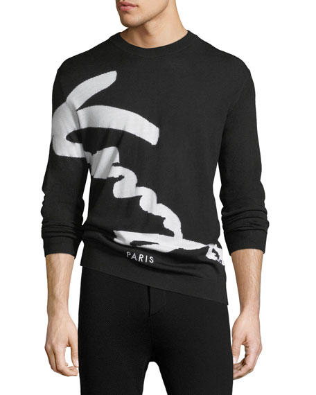 Signature Logo Sweater