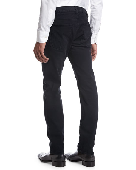 Straight-Fit Denim Jeans, Dark Navy