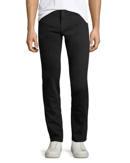 FRAME L'Homme Slim Fit Jeans, Noir