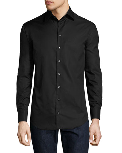 Basic Sport Shirt  Black