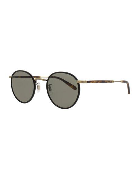 7cdaf51b51 Garrett Leight Wilson 49 Round Sunglasses