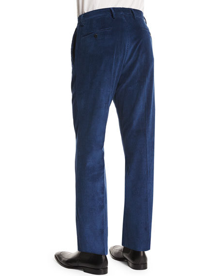 Wide-Whale Corduroy Trousers