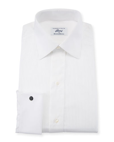 Men's Barron Pleated Tuxedo Shirt