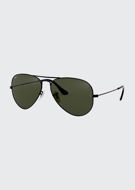 Teardrop Aviator Sunglasses, Gold