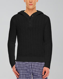 MICHAEL KORS  Ribbed Knit Pullover