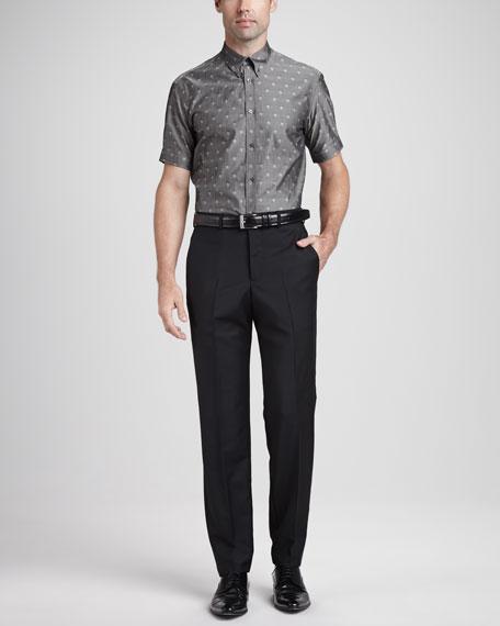 Wool/Mohair Dress Pants