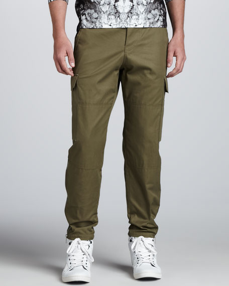 Cargo Pants, Olive Green