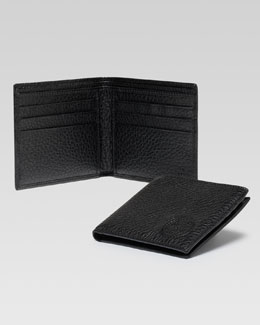 Gucci Soho Leather Bi-Fold Wallet, Black