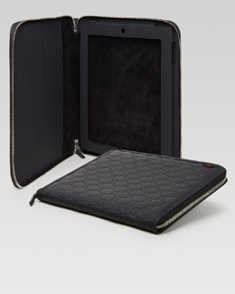 Gucci Guccisima Leather iPad Case