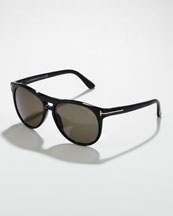 Tom Ford Callum Acetate Square Sunglasses