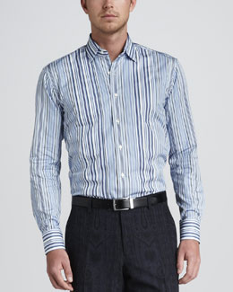 Etro Multi-Striped Shirt