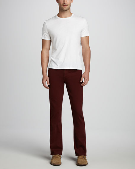 Protege Sueded Deep Wine Jeans