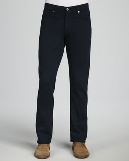 AG Adriano Goldschmied Protege Sueded New Navy Jeans