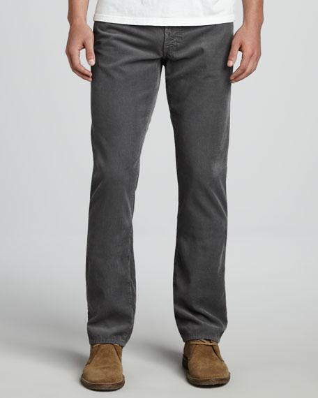 Protege Sulfur Gray Corduroy Pants