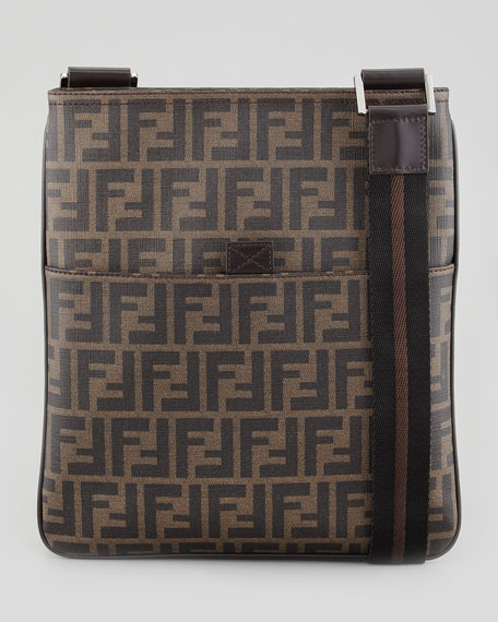09ed5252c07a Fendi Small Men s Zucca-Print Messenger Bag