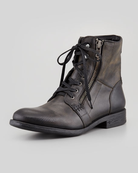 Bleeker Side-Zip Boot, Black