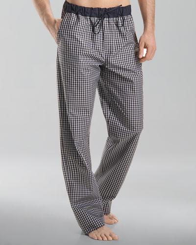 Night & Day Lounge Pants, Black Check