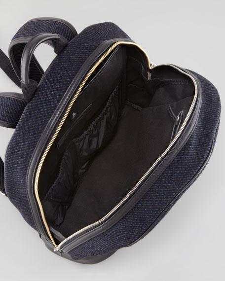 Castrup Tweed Backpack, Navy/Black