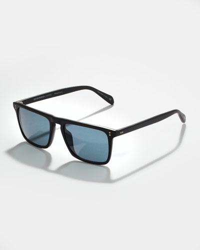 Bernardo Polarized Sunglasses, Indigo