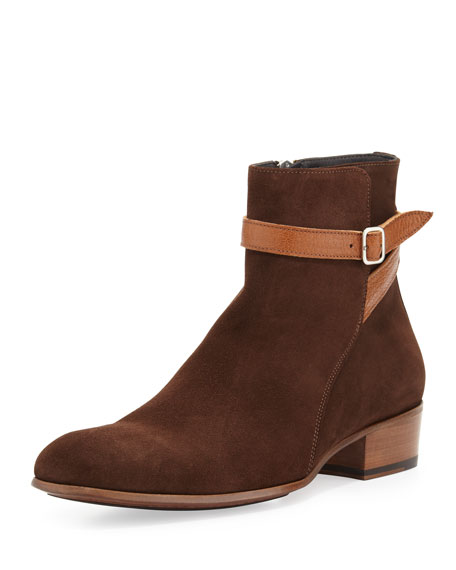 Men's Jodhpur Suede Boots
