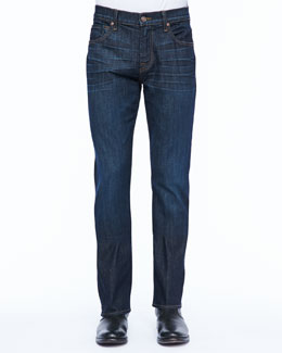 7 For All Mankind Brett A-Pocket Jean, Monaco Blue