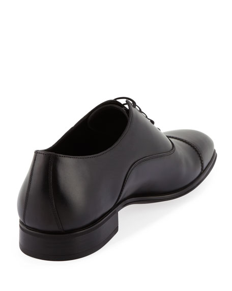 Cap-Toe Oxford, Black