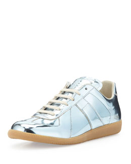 Maison Martin Margiela Replica Low-Top Sneaker, Silver