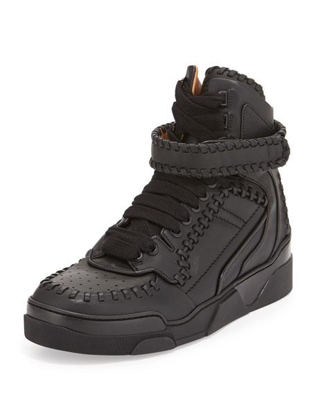 Tyson Whipstitch High-Top Sneaker