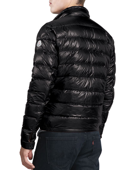 Acorus Lightweight Puffer Jacket, Black