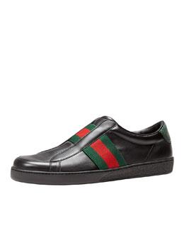 Brooklyn Slip-On Sneaker, Black