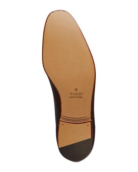 a890d7aa112 Gucci Elanor Leather Horsebit Loafer