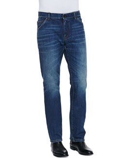 Dolce & Gabbana Medium Blue Rinse Denim Jeans