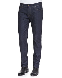 Dolce & Gabbana Dark-Wash Denim Jeans