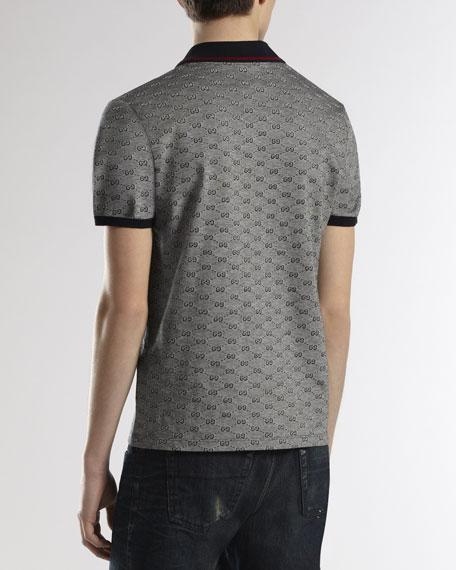 c9b58798dfc Gucci GG Short-Sleeve Polo