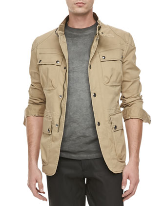 Atworth Safari Jacket, Tan