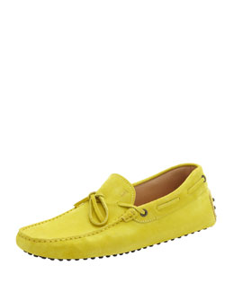 Tod's DRIVER WITH A TIE, LIME