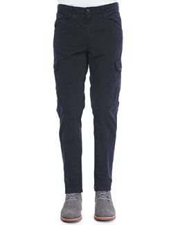 J Brand Jeans Trooper Russet Pants, Midnight