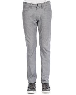 J Brand Jeans Kane Stretch Raw Silver Jeans