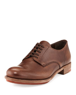 Prada Vintage Saffiano Lace-Up, Brown