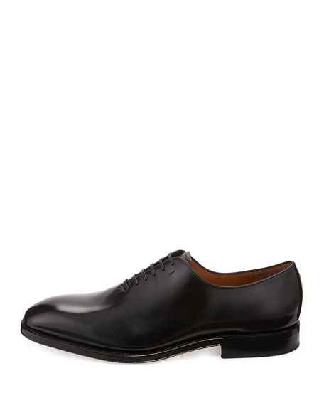 Tramezza Lace-Up Oxford, Black