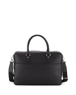 Revival Single-Gusset Briefcase, Black