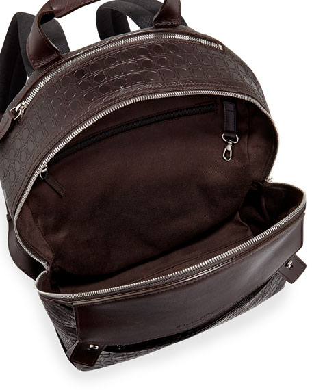 Gamma Men's Soft Backpack, Dark Brown
