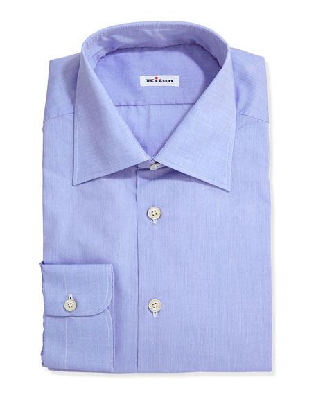 Poplin Dress Shirt, Blue