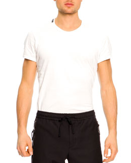 Dolce & Gabbana Short-Sleeve T-Shirt, White
